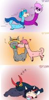 Alpaca Couples Compilation by tie-dye-flag