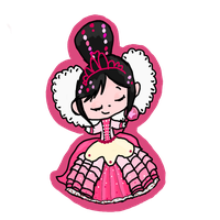Princess Vanellope Von Schweetz by kittenScientist