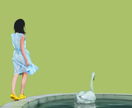 yellow shoes by begemott