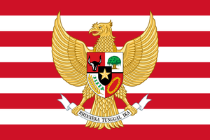 Indonesia coat of arms Banner by ShitAllOverHumanity