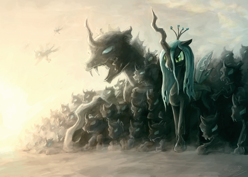 Changeling Behemoths by AssasinMonkey