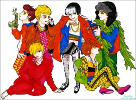 Super junior fanart_ Mr.Simple by Gratchiyo