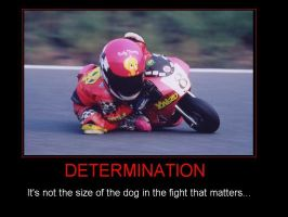 Motorbike Poster-Determination by Eccles116