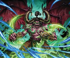 Warcraft Illidan by Jonboy007007