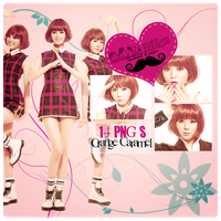 Pack PNG Orange Caramel by GAJMEditions