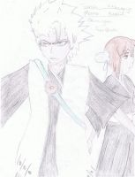 Toshiro and Momo by FairymangaGirl