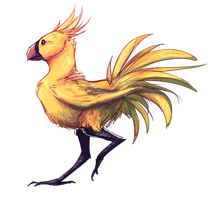 Chocobo by DeNovember