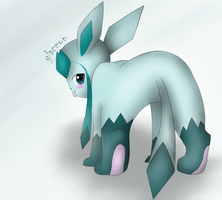Glaceon by Kalinel