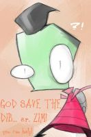 GOD SAVE THE ZBDD - by ereptor by irken-invaders