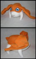 Patamon plush by MagnaStorm