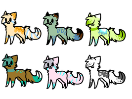 Feline Adoptables by Reedified