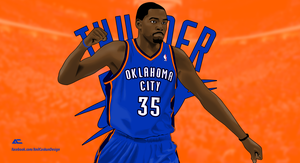 Kevin Durant VECTOR | HardImages. by A2nil