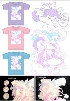 Silk screen pegasus shirt pre orders open again! by zambicandy