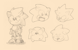 Sonic Character Study by Air-City