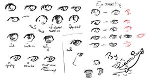 Manga Eye Test by Wynanka