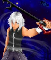 Riku: Back in Black by Rhea-Chan
