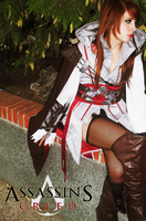Ezia Auditore / Ezio Auditore Genderswap Cosplay by Shady-Chan