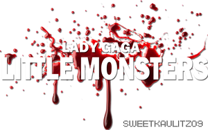 LITTLE MONSTER PNG. by sweetkaulitz09