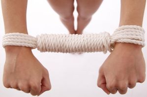 Rope Handcuffs by Satyruk2000