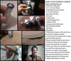 Dornish Armor Pattern Tutorial by CheesyKnight