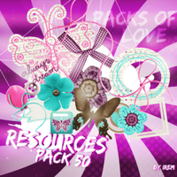 Elements Png Pack 3 by IremAkbas