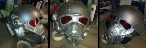 NCR ranger helmet and mask by Zelvyne