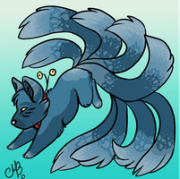 Nine-tailed cat auction 3[CLOSED] by Glasiar