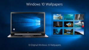 Windwos 10 Original Wallpapers 4K by armend07