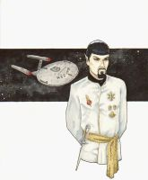 Spock - Mirror, Mirror by Iconograph