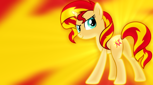 Sunset Shimmer Wallpaper by SailorTrekkie92