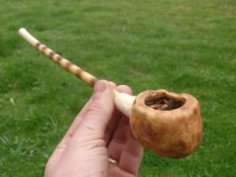 Birch Burl Pipe by Apothacer