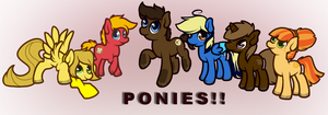 PONIES by Toucat