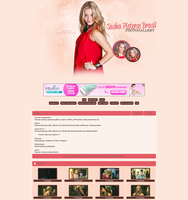 Sasha Pieterse Coppermine Theme by unbrokengraphics