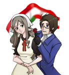 Austria and Hungary by InvaderLi