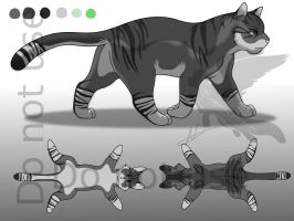 Adoptable Male Cat - Sold by Ebonycloud-Graphics