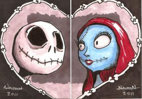 Jack and Sally Set by Fellhauer