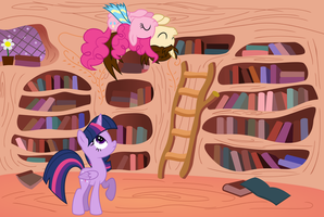 What are you doing here, Pinkie by MacTavish1996