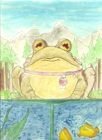 HYPNOTOAD by humblerthanyou