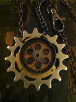 Inside the Machine Necklace by NenaPerrill