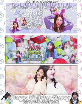 : Happy Birthday Nayeon 's - 22/9/2016 : by Lariel-3105