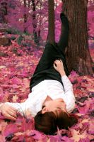 Lying in autumn dreams. by Bunnis