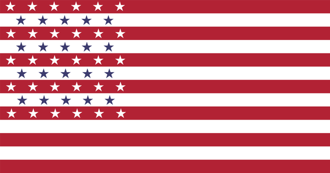 [Redesign] Flag of the U.S.A. v7 by vexilologia