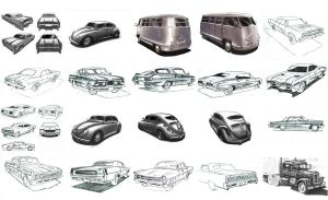 60's cars by mikemars