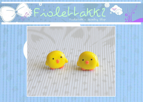 FIOLETTAKK2: Yellow Chicks by Fiolettakk2