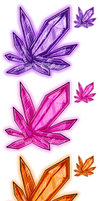 Other Colored Crystals by Oylnum
