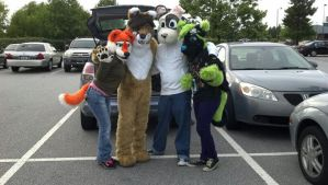 fursuit outing by ScavengerArtist