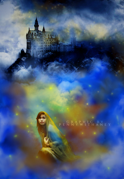 Blue and Gold Magic Contest Entry by Pennywithaney