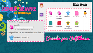 Tema de iconpackager Sonrie Siempre by SofithaaxTutoriales