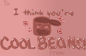 Cool beans valentines by coolbeansocks