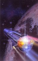 Night of the Dragonstar by AlanGutierrezArt